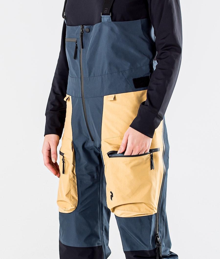 Peak Performance Vertical Pro Pantaloni da Snowboard Donna Blue Steel