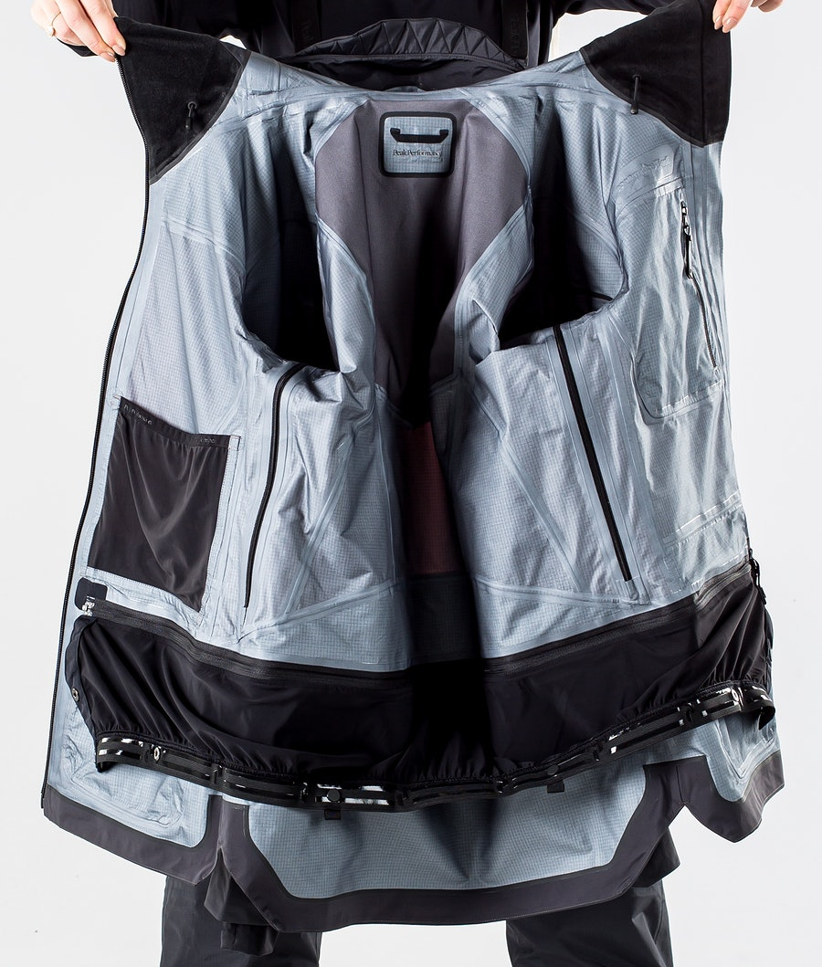 Peak Performance Vertical Pro Snowboardjakke Dame Iron Cast