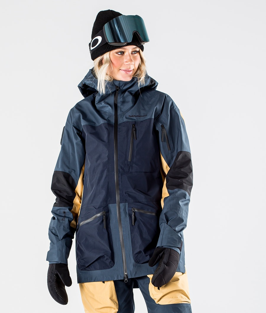Peak Performance Vertical Pro Veste de Snowboard Blue Steel