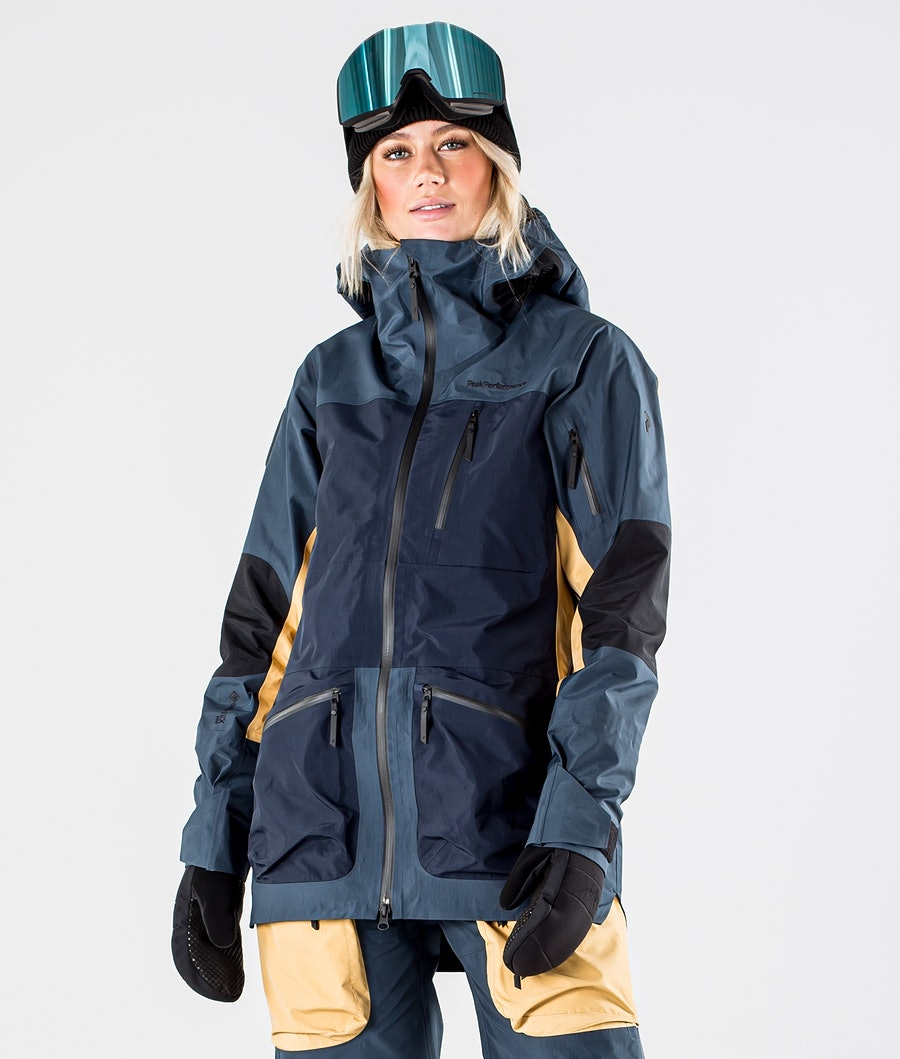 Peak Performance Vertical Pro Veste de Ski Blue Steel