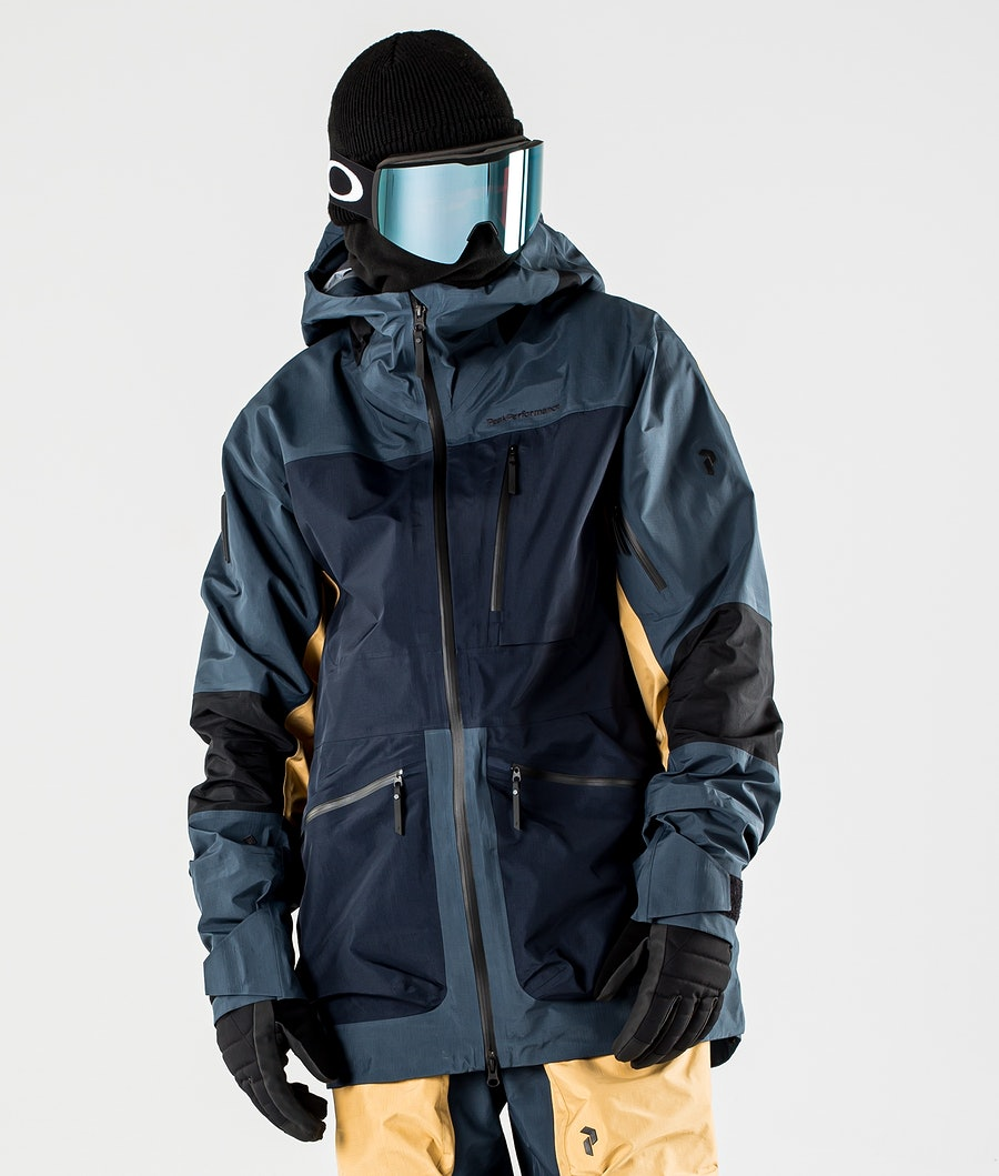 Peak Performance Vertical Pro Snowboardjacke Blue Steel
