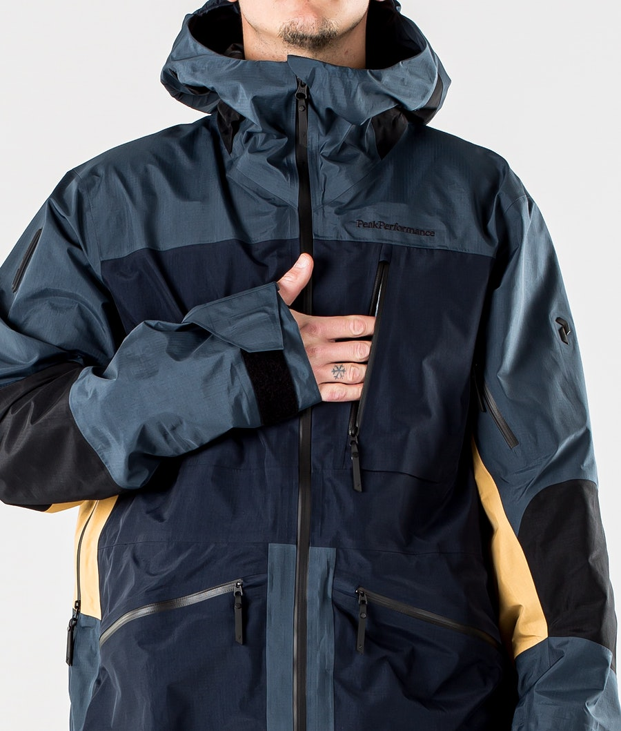 Peak Performance Vertical Pro Snowboard jas Blue Steel