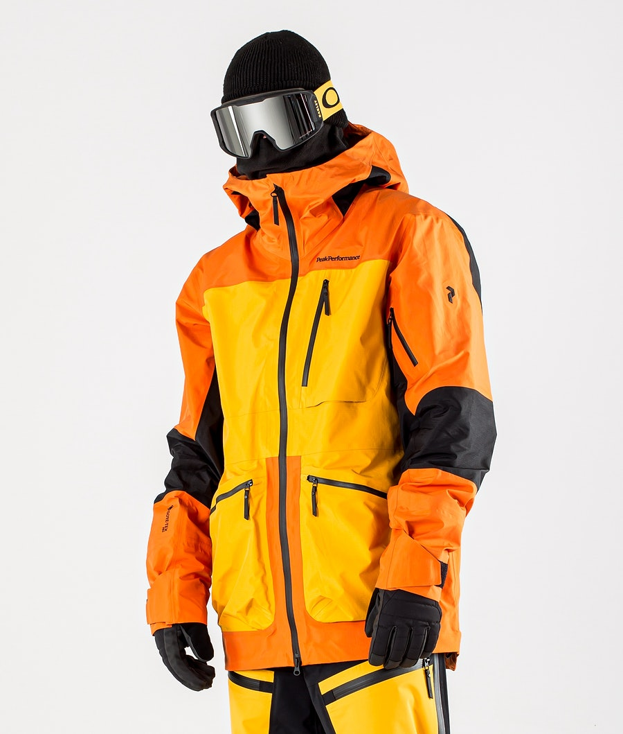 Peak Performance Vertical Pro Snowboardjacka Orange Altitude