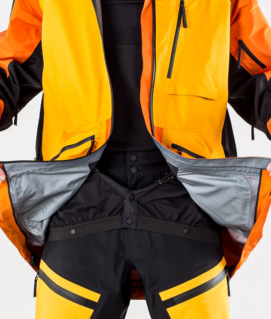 Peak Performance Vertical Pro Snowboardjakke Orange Altitude