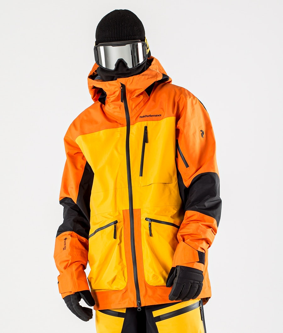 Peak Performance Vertical Pro Ski Jacket Orange Altitude
