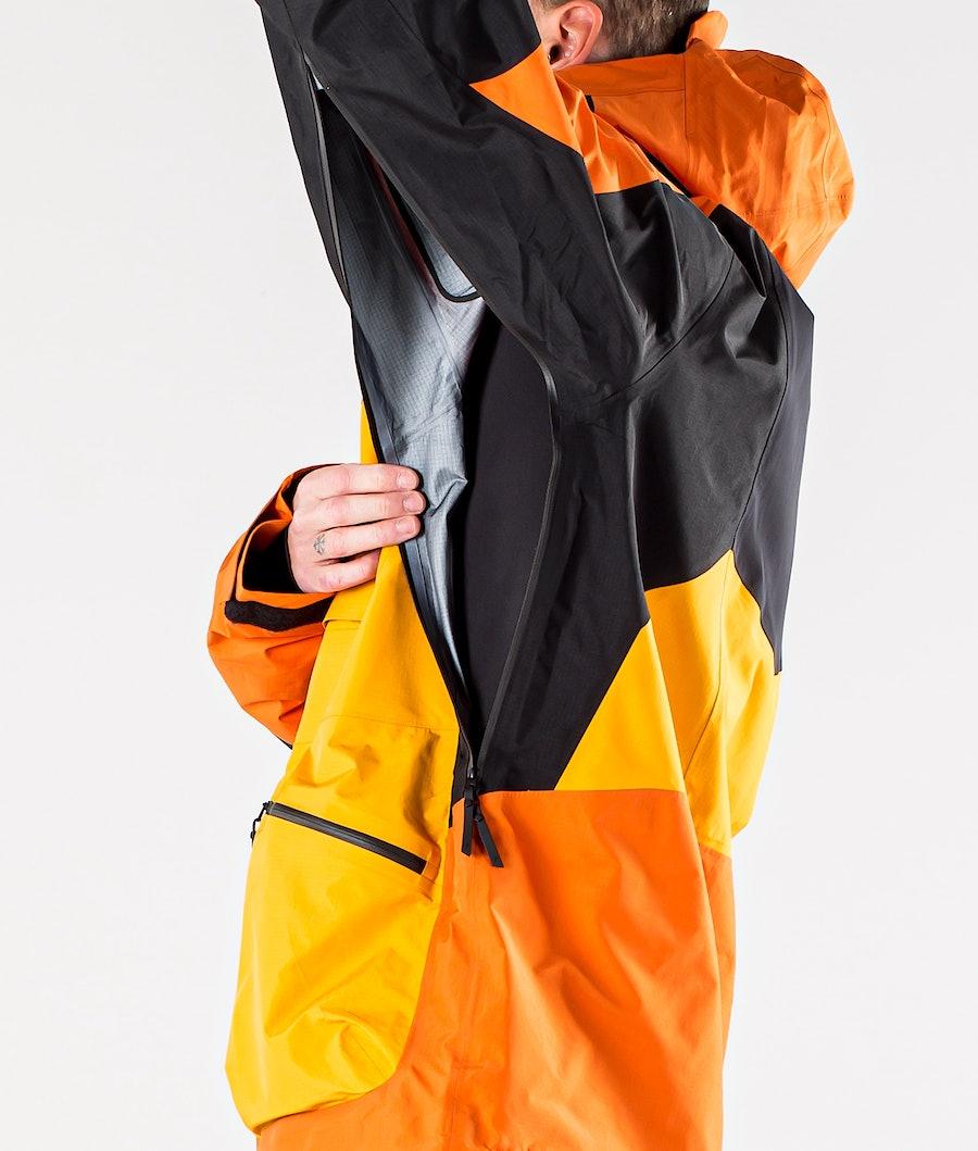 Peak Performance Vertical Pro Giacca da Snowboard Orange Altitude
