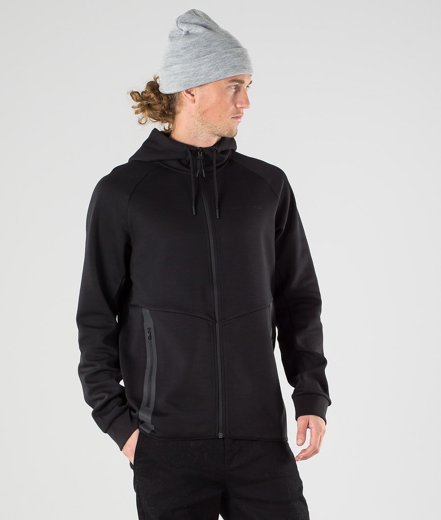 Peak Performance Tech Zip Sweats à capuche Black