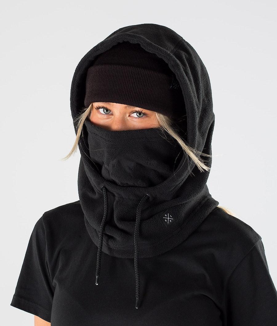 Dope Cozy Hood Women's Facemask Black