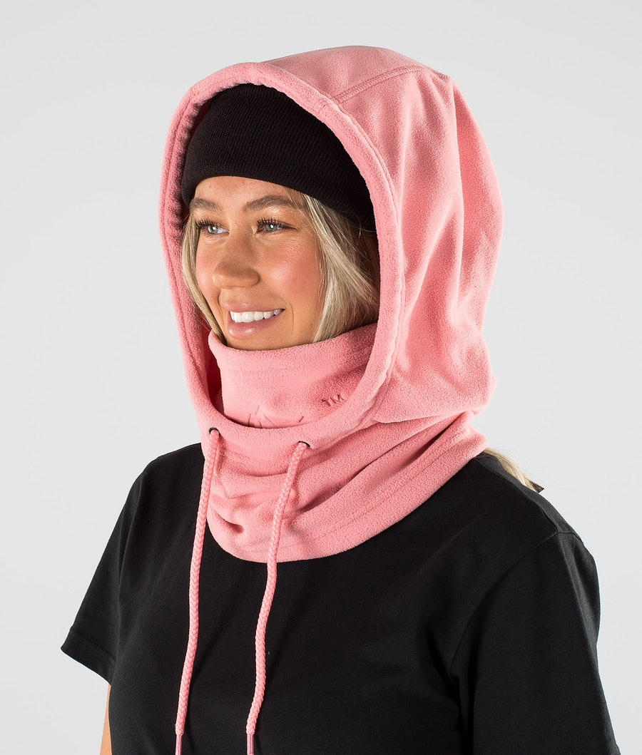 Dope Cozy Hood Women's Facemask Pink