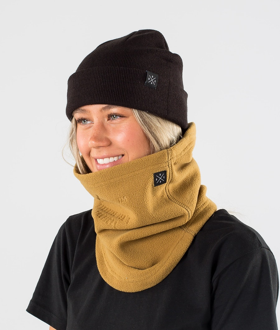 Dope Cozy Tube Skimaske Gold