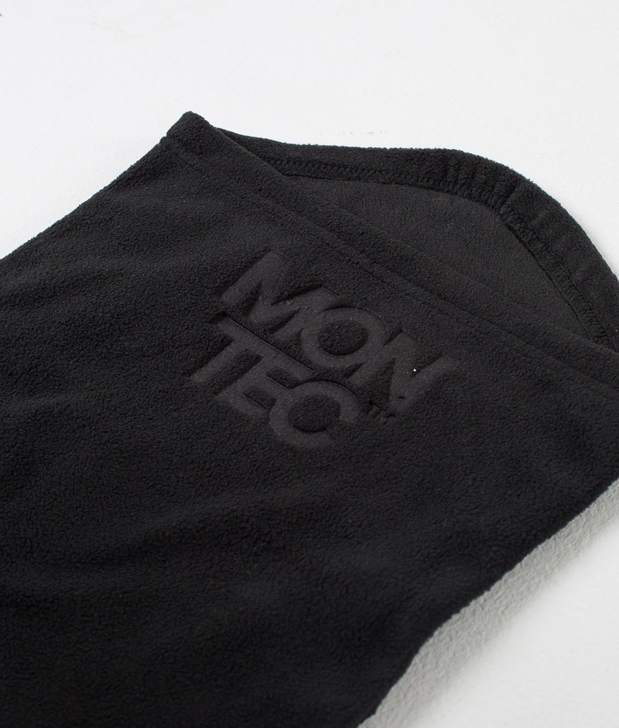 Montec Echo Tube Ansiktsmask Dam Black