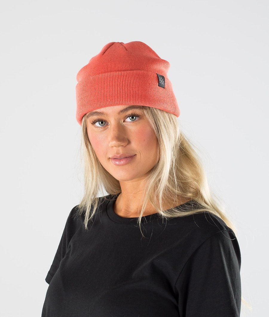 Dope Solitude Beanie Coral