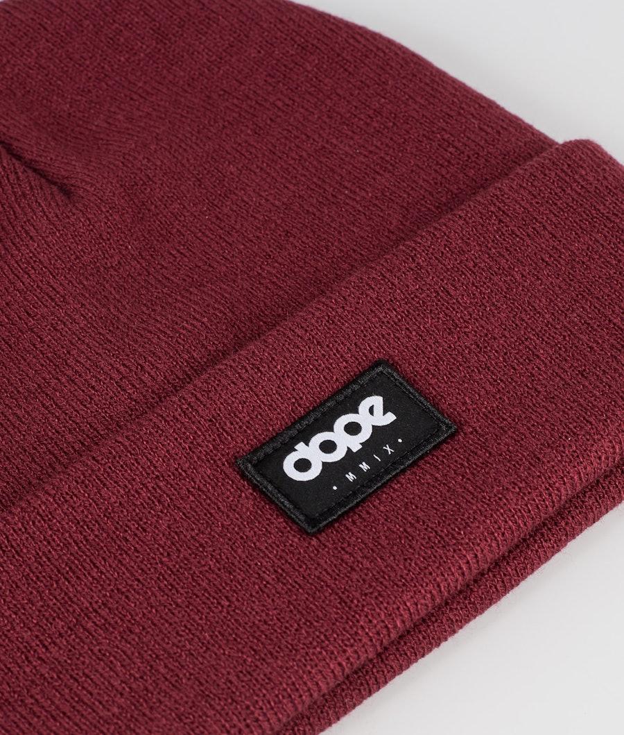 Dope OG Logo Mössa Dam Burgundy