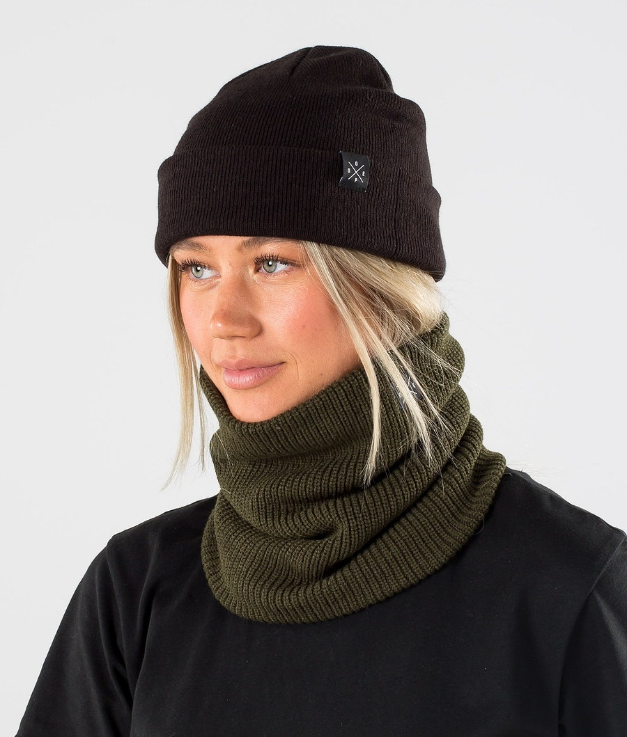 Dope 2X-UP Knitted Skimasker Olive Green