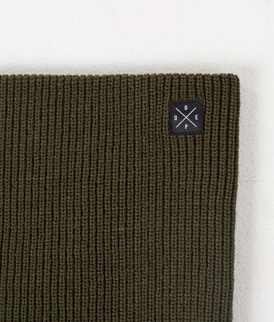 Dope 2X-UP Knitted Tour de cou Femme Olive Green