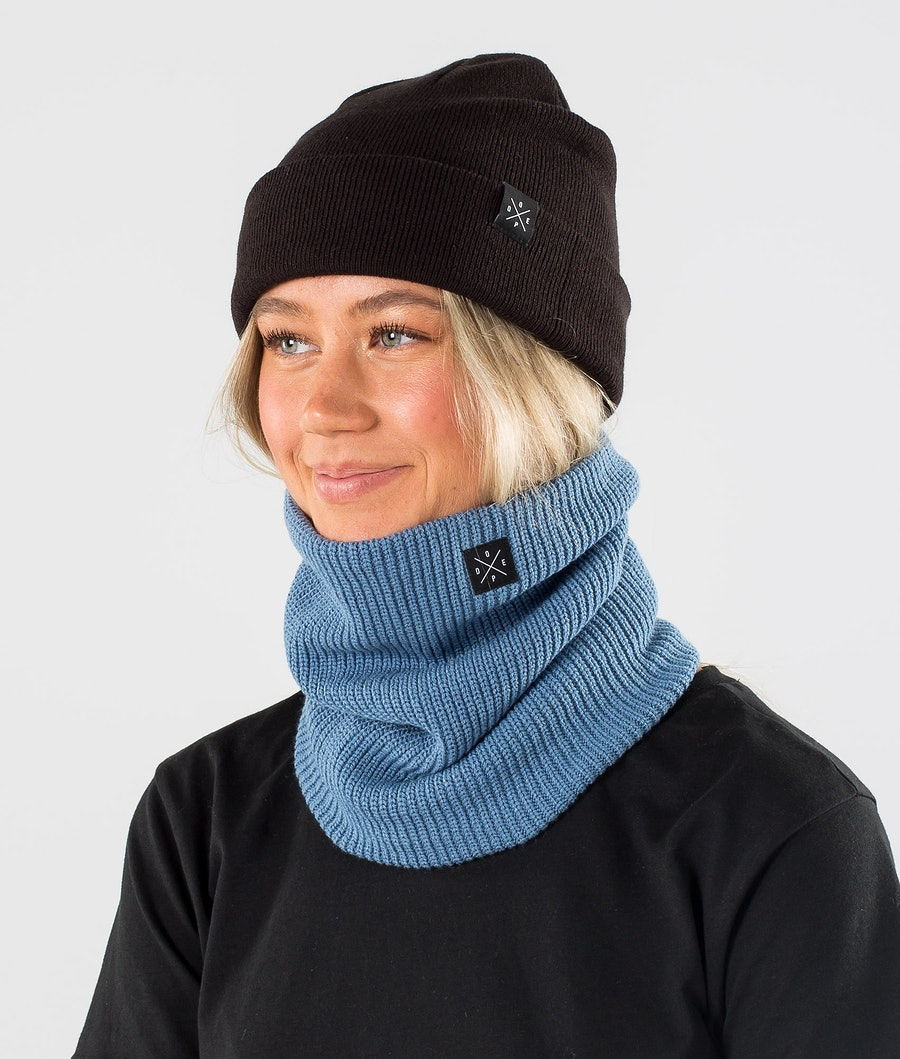 Dope 2X-UP Knitted Skimaske Blue Steel