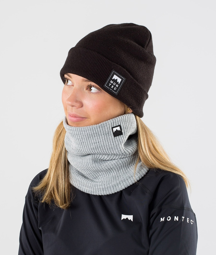Montec Classic Knitted Tour de cou Grey Melange