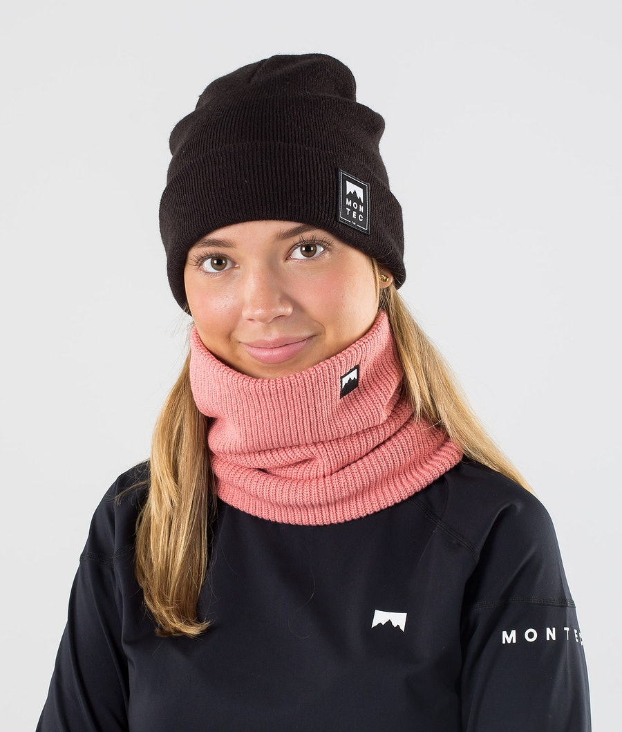 Montec Classic Knitted Skimaske Pink