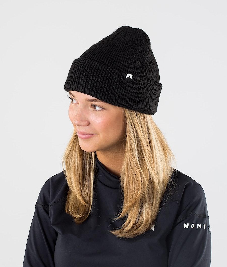 Montec Ice Mütze Black