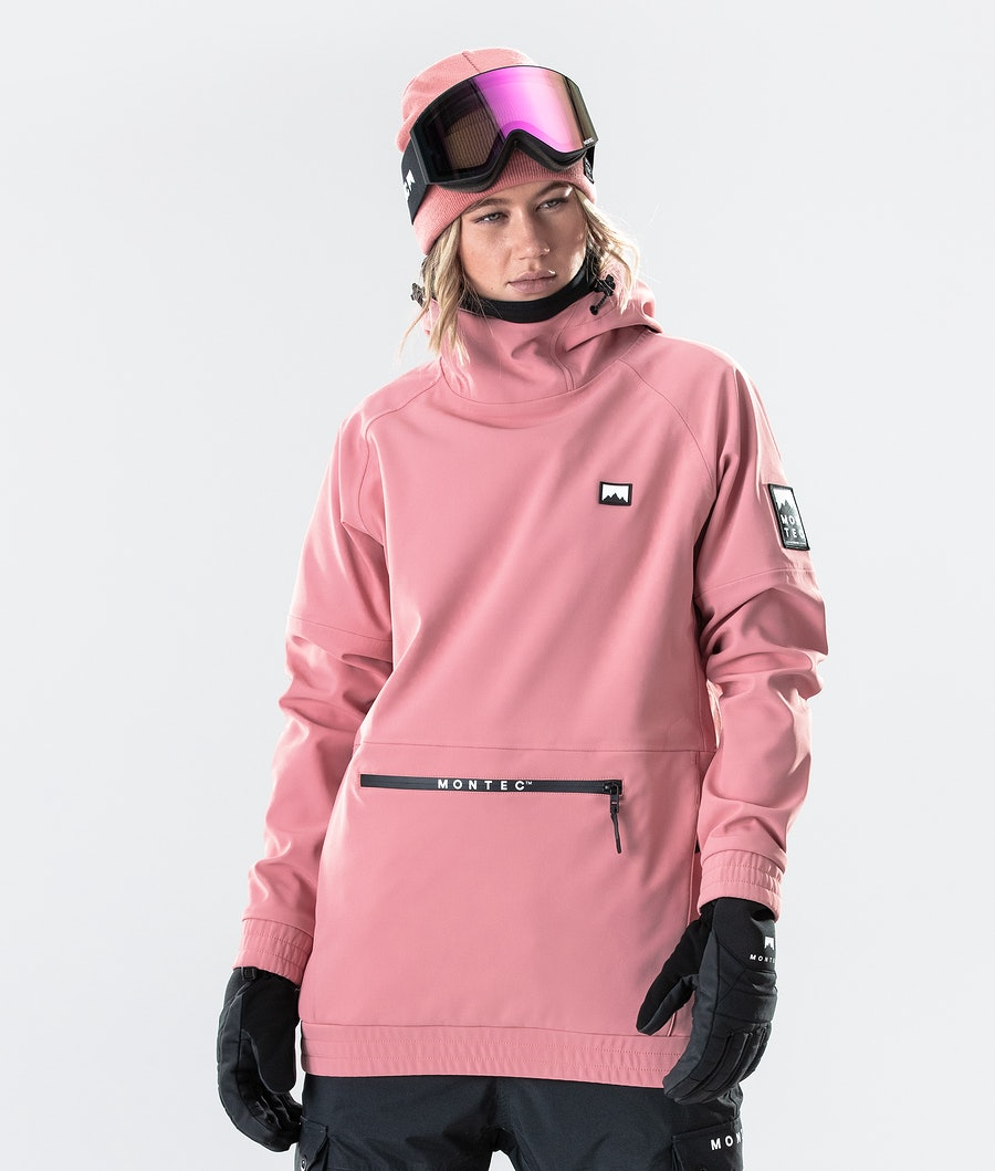 Montec Tempest W Laskettelutakki Pink