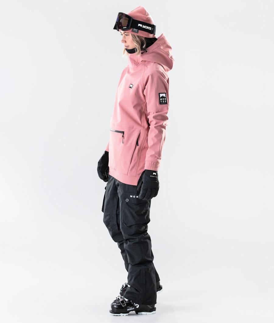 Montec Tempest W Naisten Laskettelutakki Pink