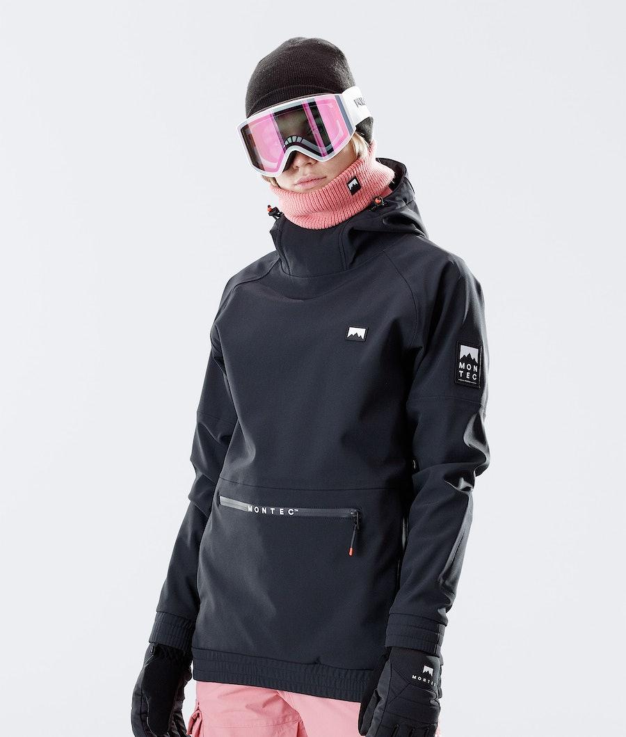 Montec Tempest W Skijakke Black