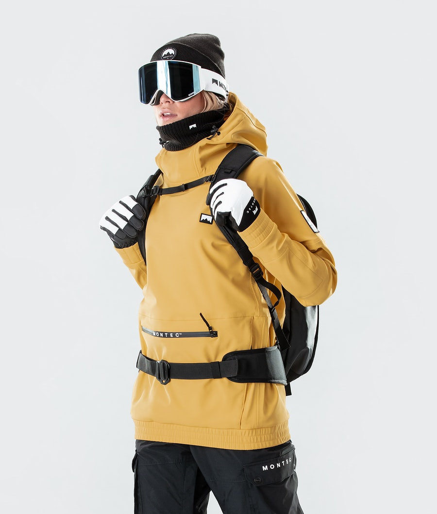 Montec Tempest W Ski Jacket Yellow