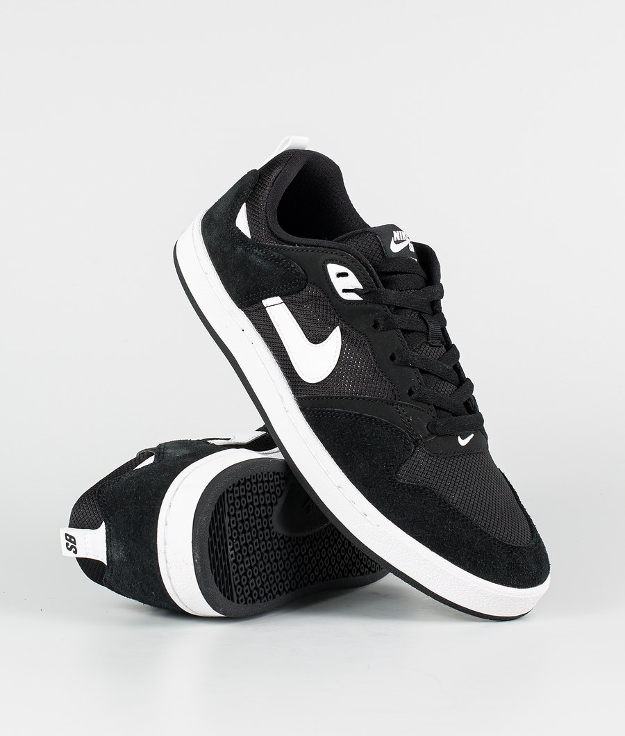 Nike SB Alleyoop Shoes Black/White-Black