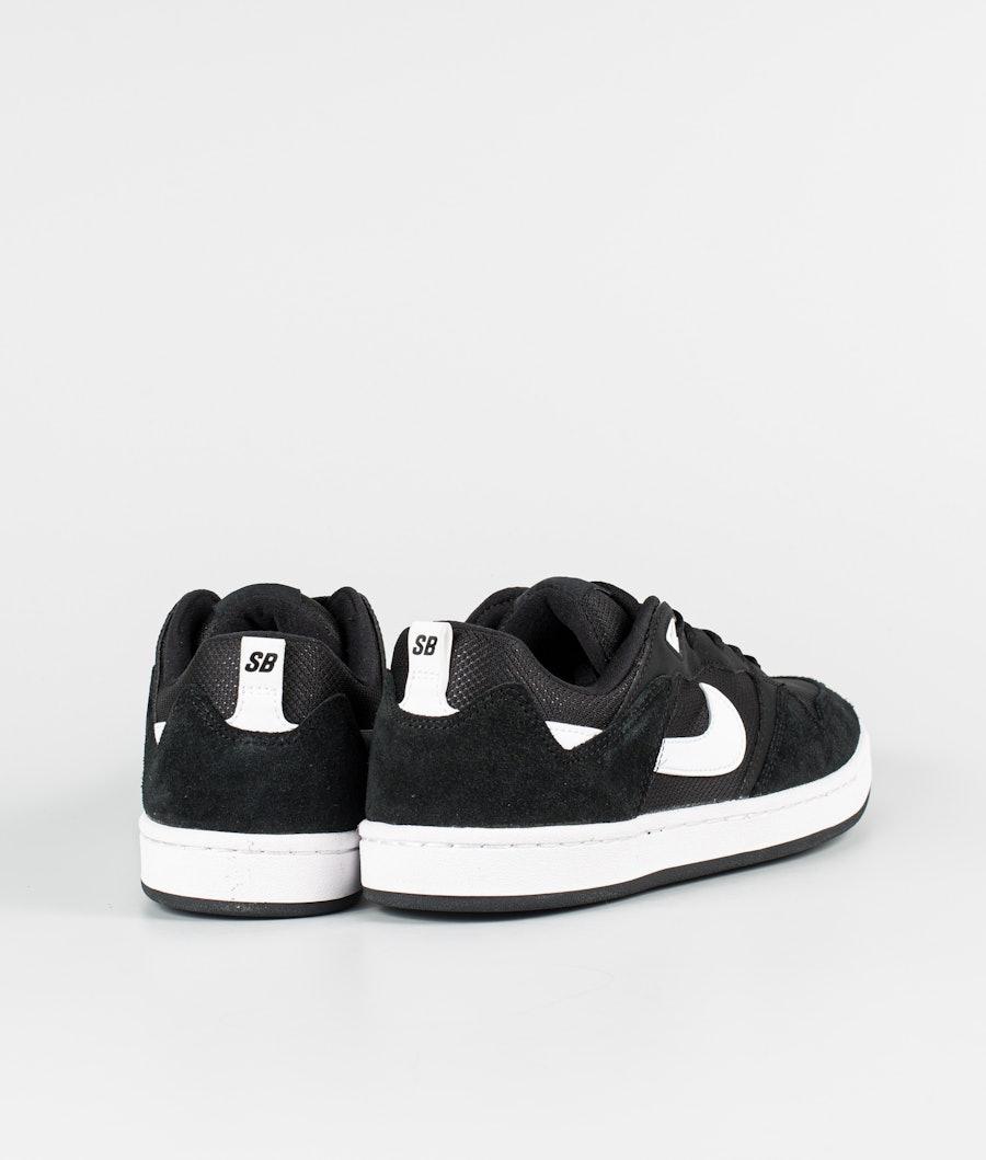 Nike SB Alleyoop Schuhe Black/White-Black