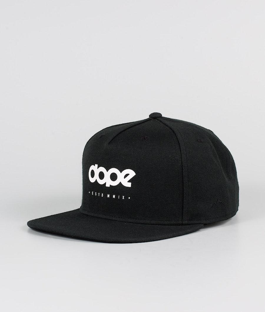 Dope Dope OG Caps Black