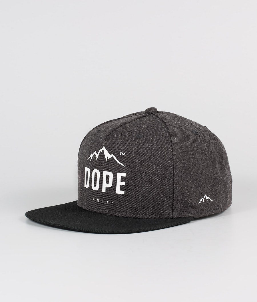 Dope Paradise Caps Dark Grey Black