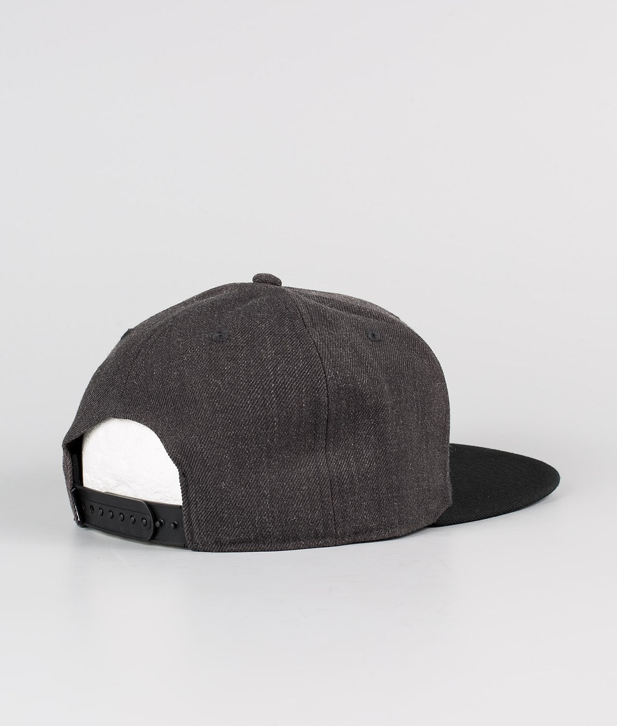 Dope Paradise Keps Dark Grey Black
