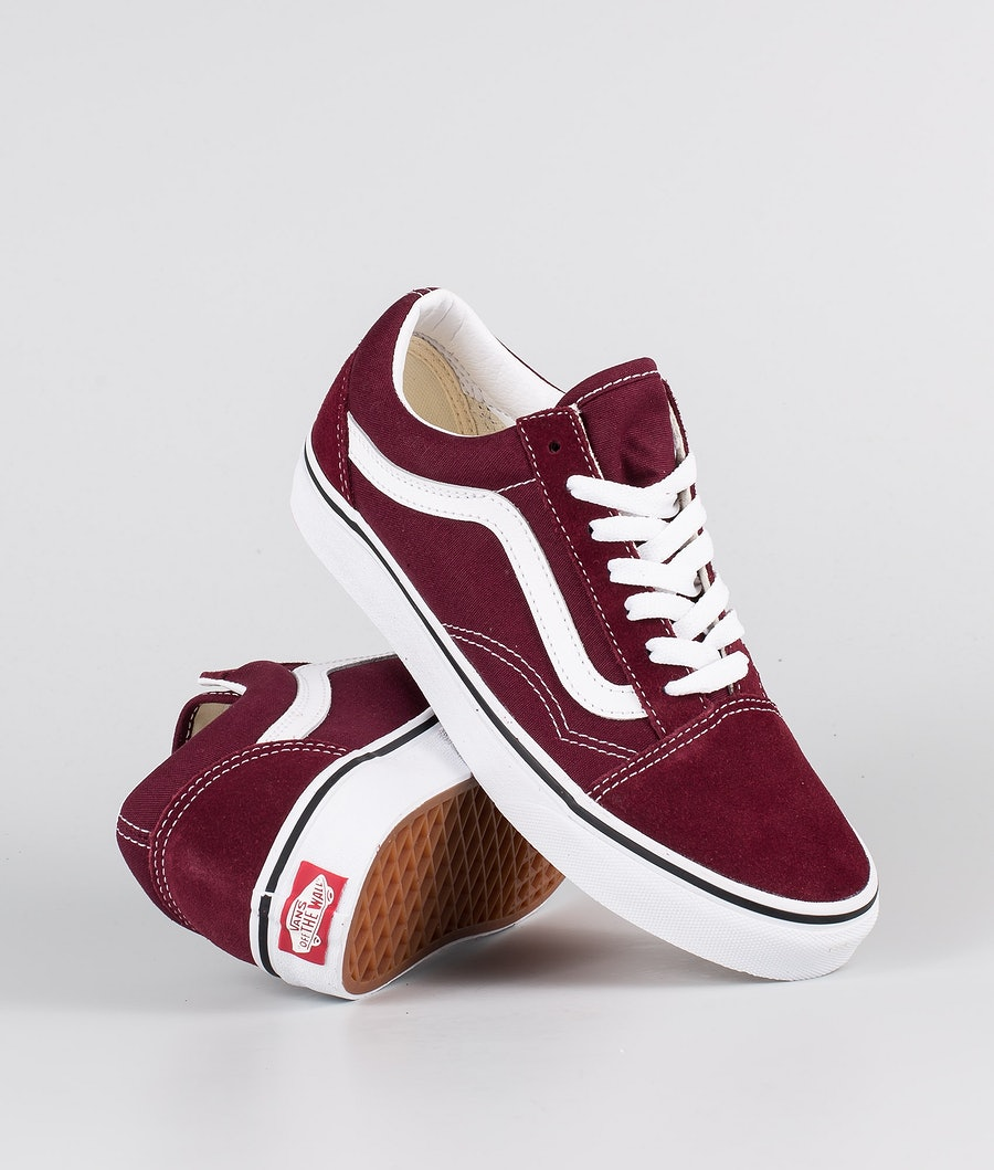 Vans Old Skool Sko Dame Port Royale/True White