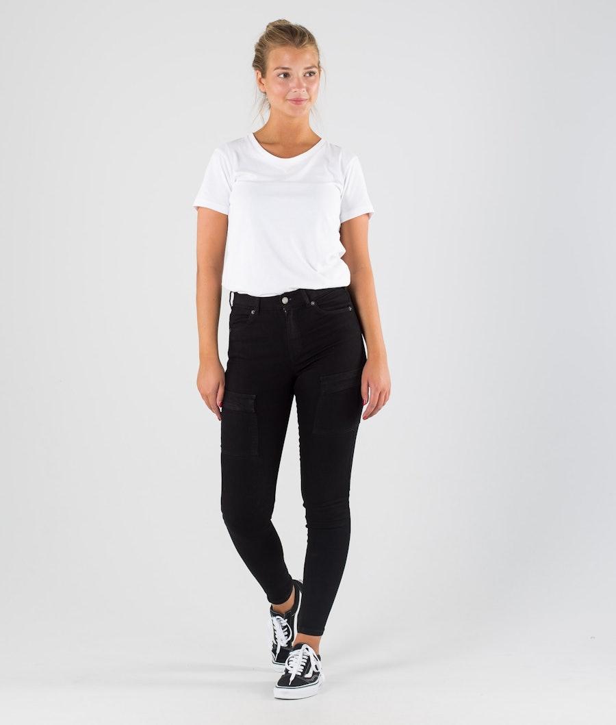 Dr Denim Lexy Cargo Women's Pants Black