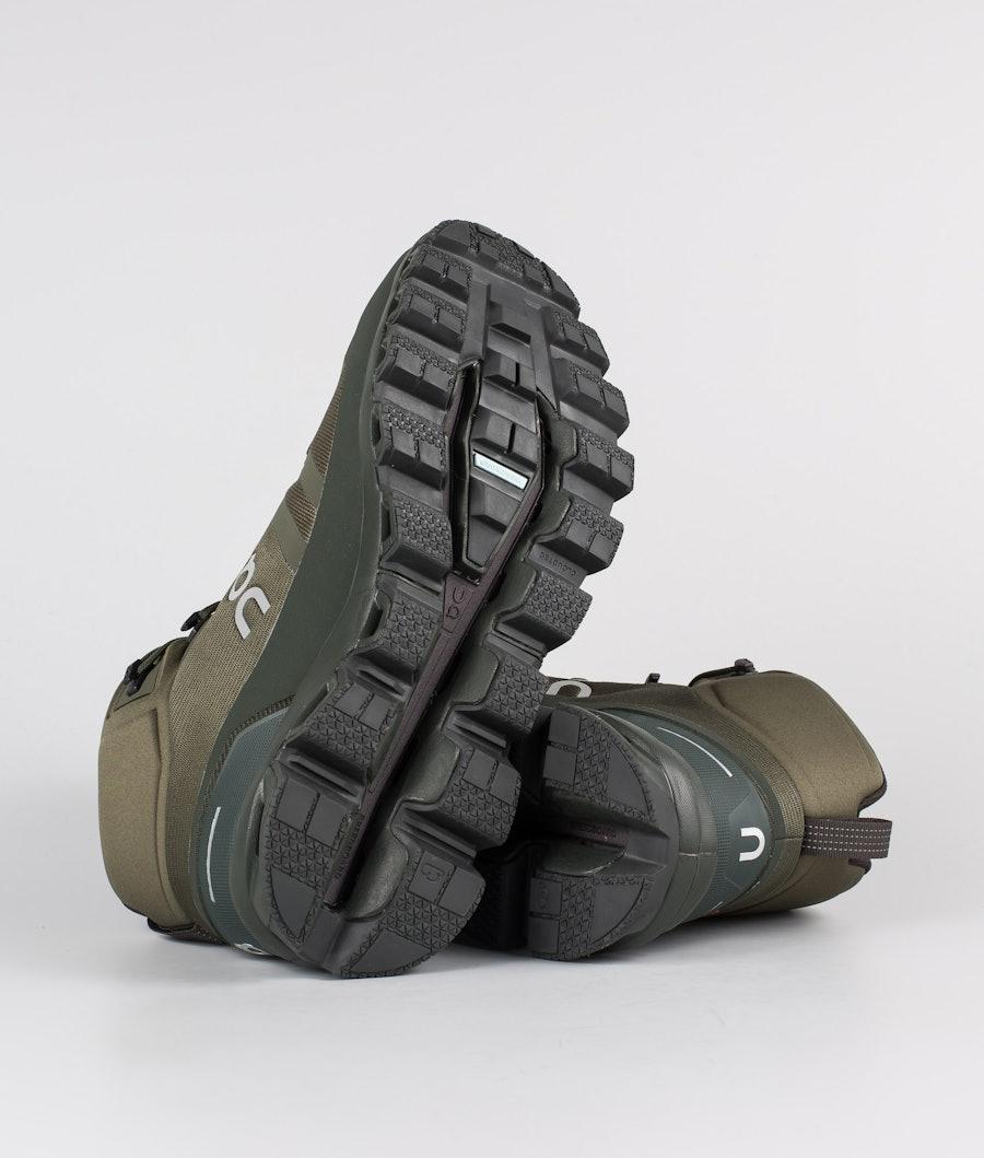 On Shoes Cloudrock Waterproof Shoes Jungle/Fir