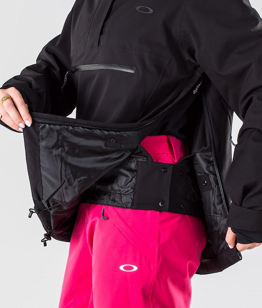 Oakley Iris Insulated Anorak Skijacke Damen Blackout