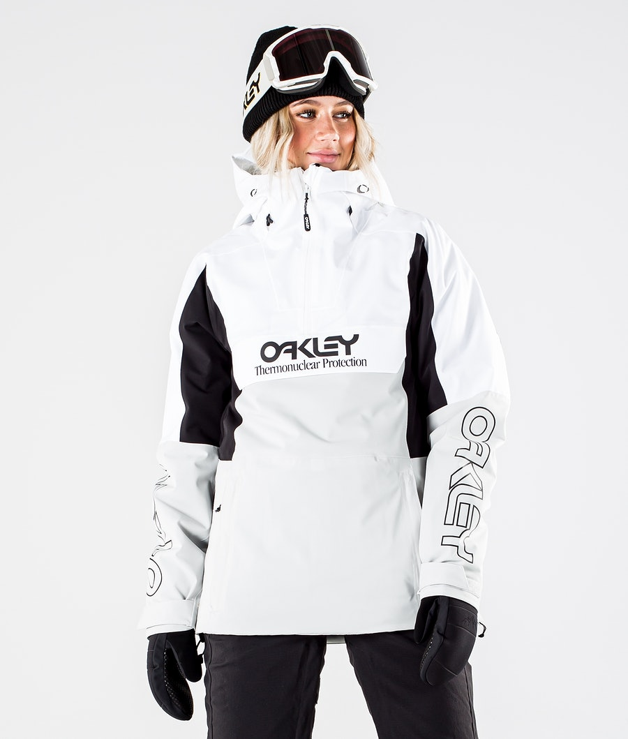 Oakley Insulated Anorak Veste de Ski White/Grey