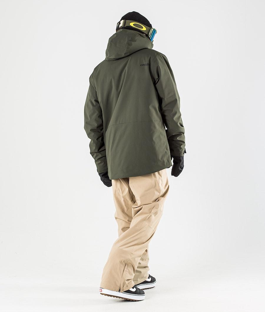 Oakley Insulated Anorak Snowboardjacka New Dark Brush