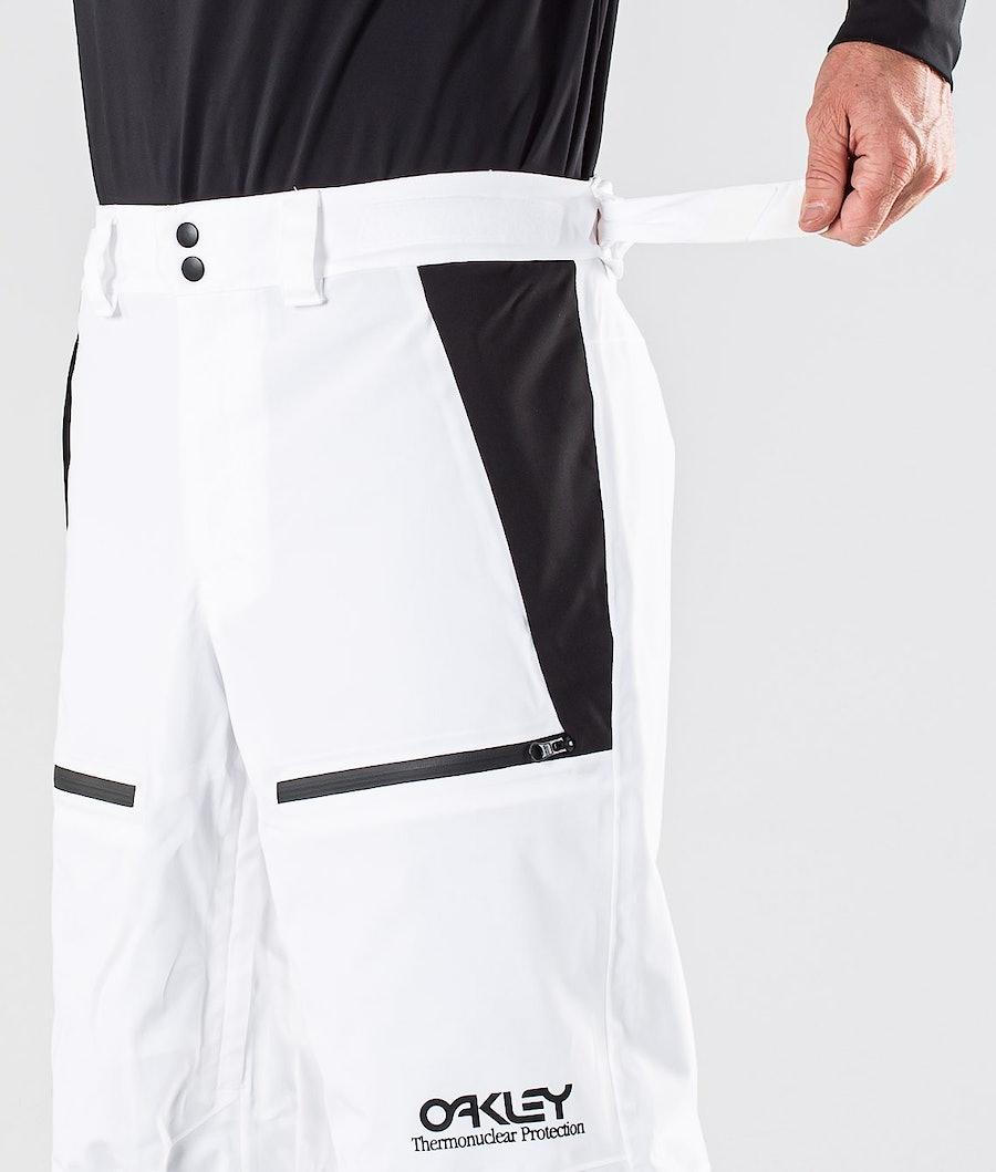 Oakley Lined Shell Skihose White