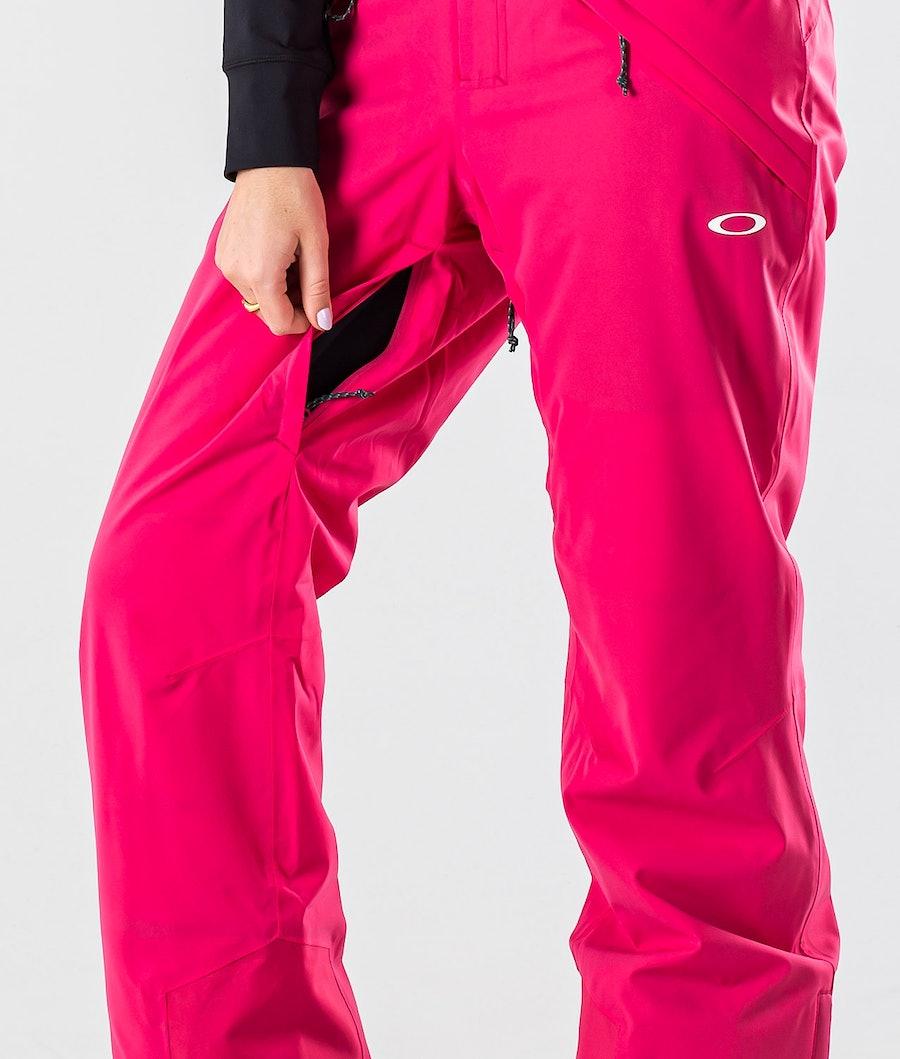 Oakley Iris Insulated Pant Women's Ski Pants Rubine Red
