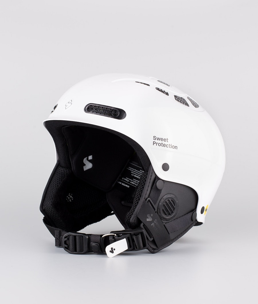 Sweet Protection Igniter II MIPS Casque de Ski Gloss White