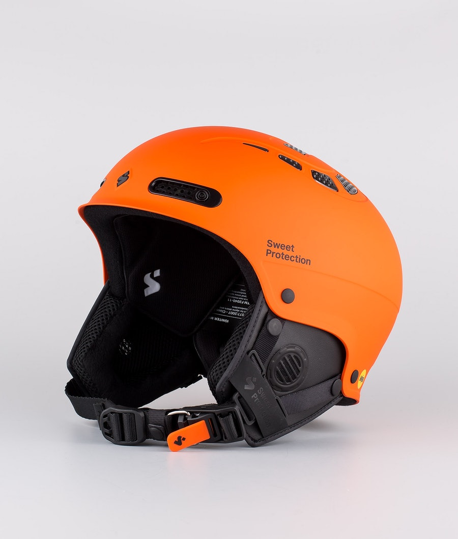 Sweet Protection Igniter II MIPS Ski Helmet Matte Flame Orange