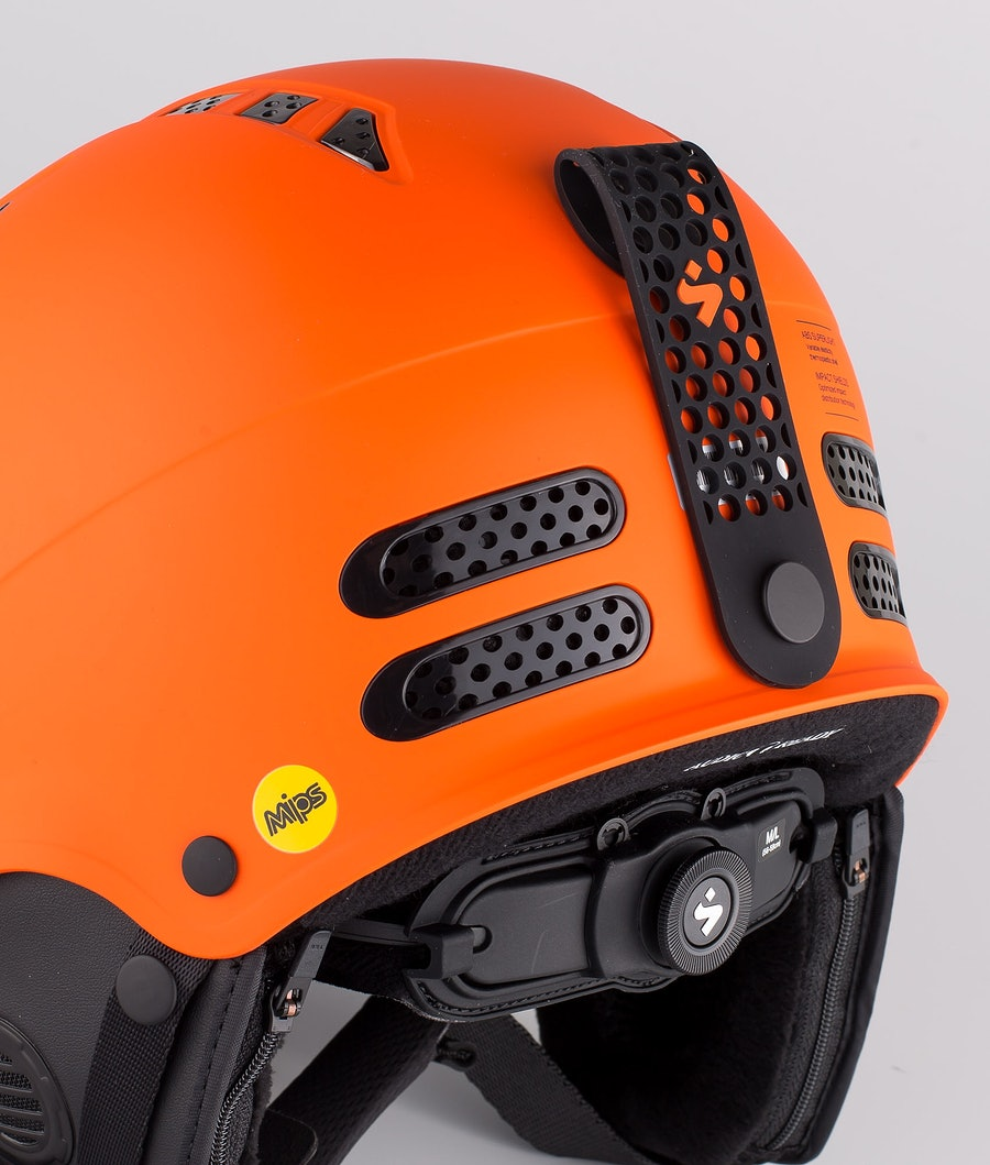 Sweet Protection Igniter II MIPS Skihjelm Matte Flame Orange