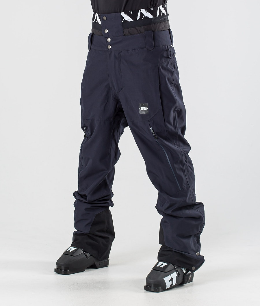 Picture Picture Object Ski Pants Dark Blue