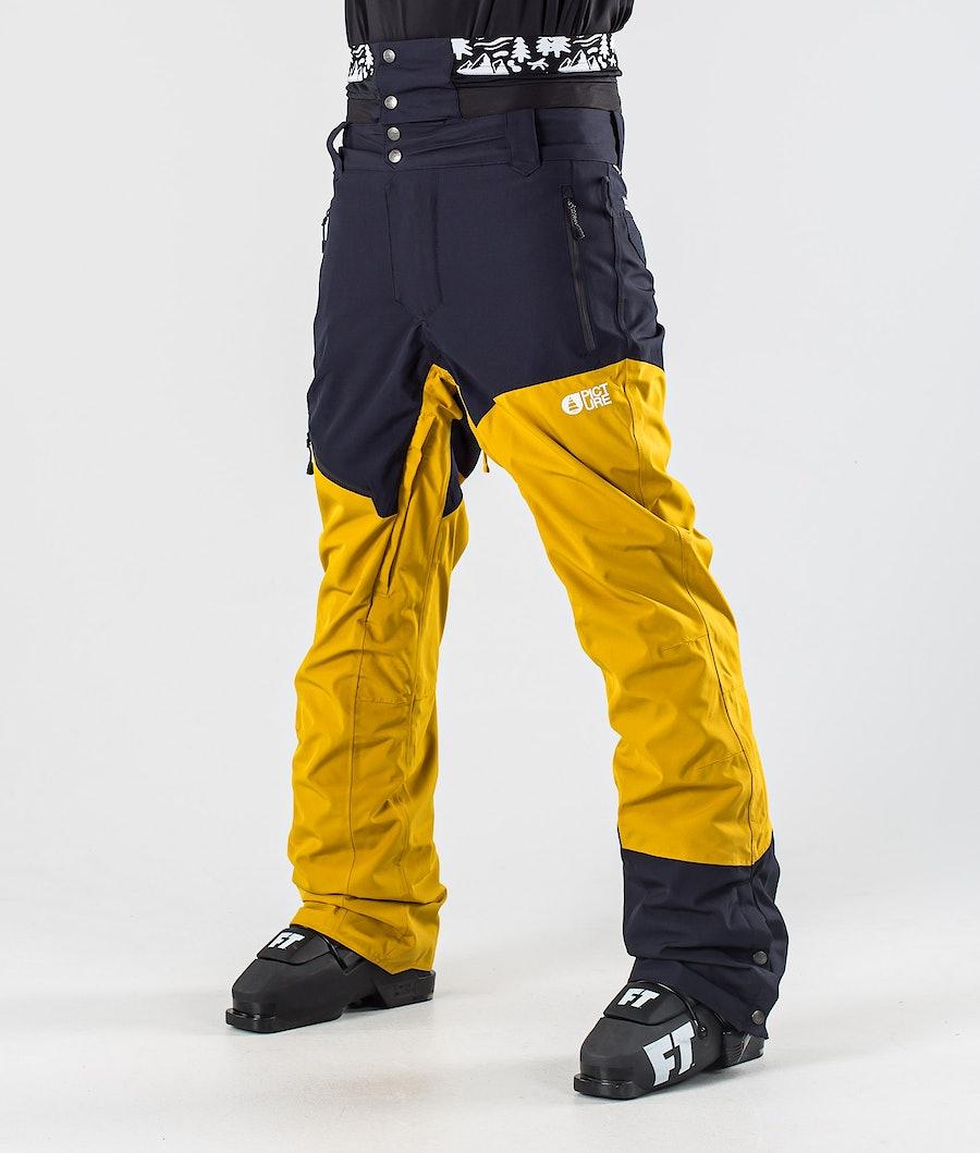 Picture Alpin Ski Pants Safran Dark Blue
