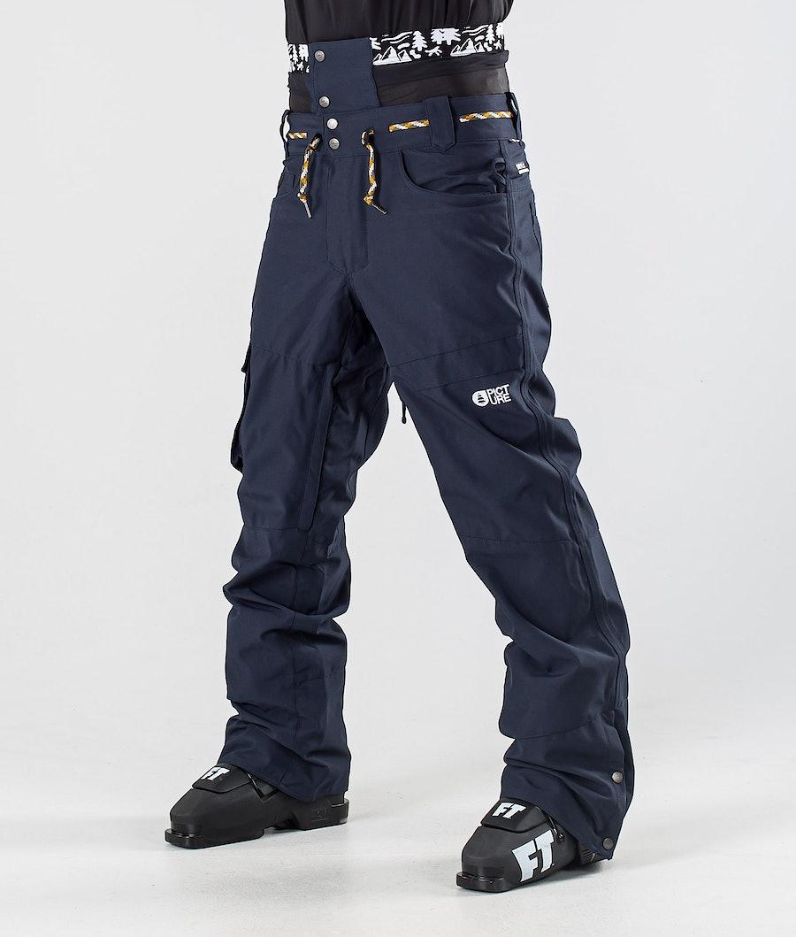 Picture Under Ski Pants Dark Blue