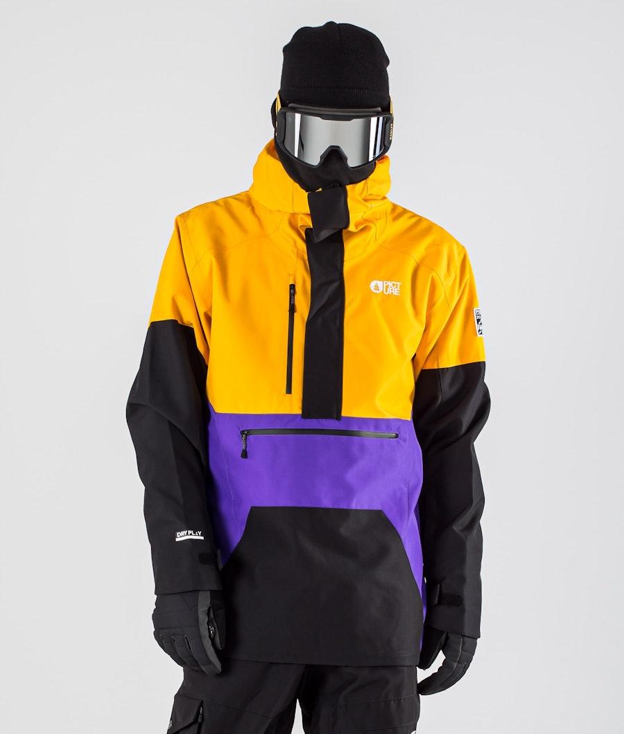 Picture Trifid Ski Jacket Yellow Black