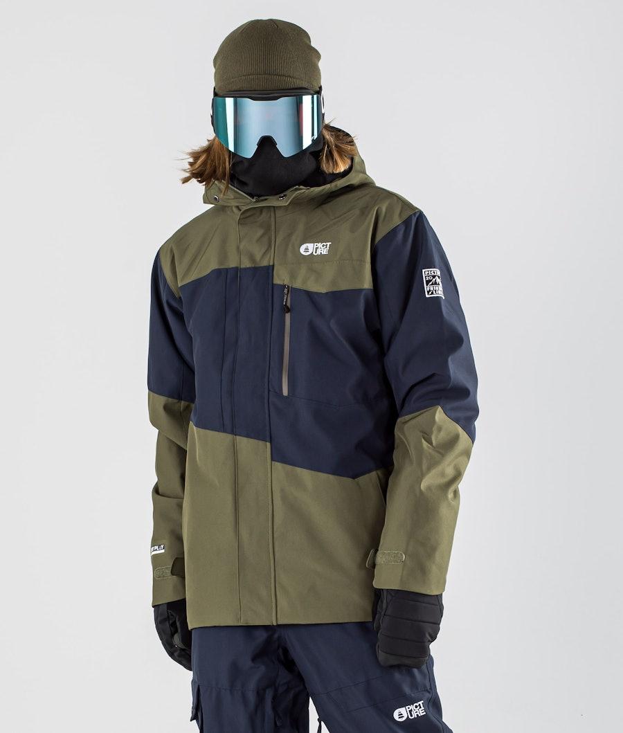 Picture Styler Ski Jacket Dark Blue Army Green