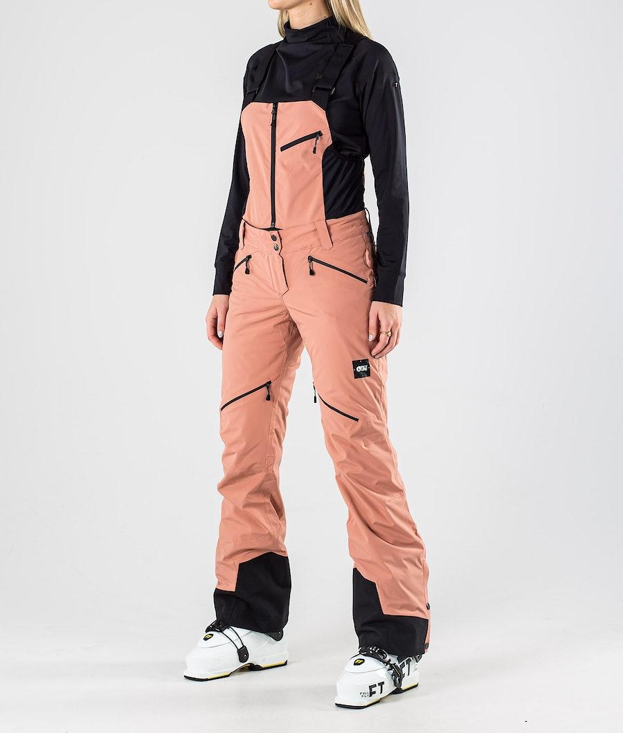 Picture Haakon Bib Ski Pants Misty Pink