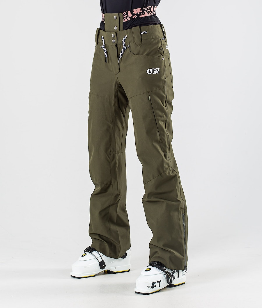 Picture Slany Skihose Army Green